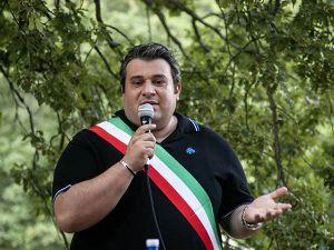 Il sindaco di Palagano Fabio Braglia