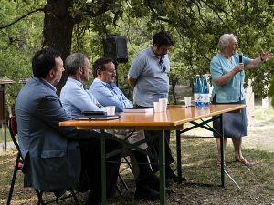 Da sinistra: Marco De Paolis, Enrico Grazioli, Pier Vittorio Buffa, Roberto Tincani, Ida Pacchioni