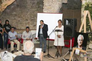 da sinistra: Buffa, Vicinanza, il sindaco Italo Lullo, Pamela Villoresi