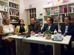 Catania.Santina Sconza, Marina Cosentino, Turi Caggegi, Buffa ed Enzo Bianco
