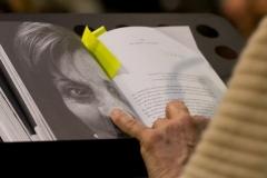 Pamela Villoresi legge alcune pagine di Io ho visto