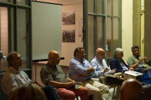 Massa. Da sinistra: Oligeri, Michelucci, Buffa, Bernabò, Fiori e Fulvetti